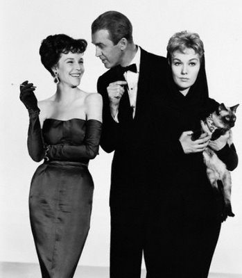 janice rule + jimmy stewart + kim novak