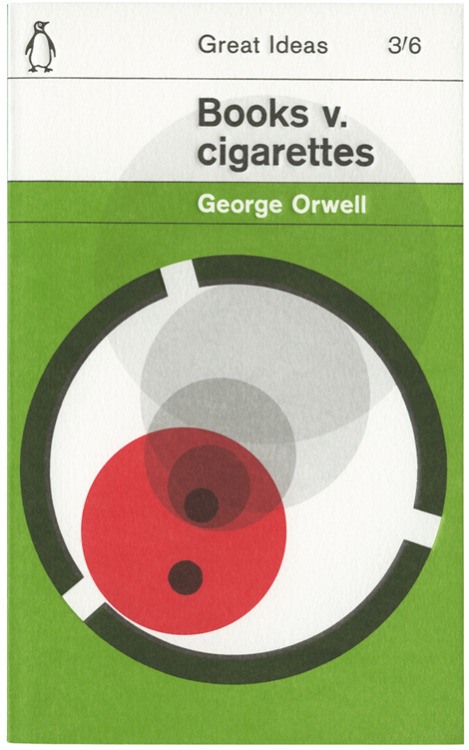 Obviously books win. Via iconoclassic:  Books v. Cigarettes (via alistairh)