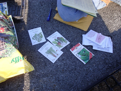 seed packets (from john scheepers)
