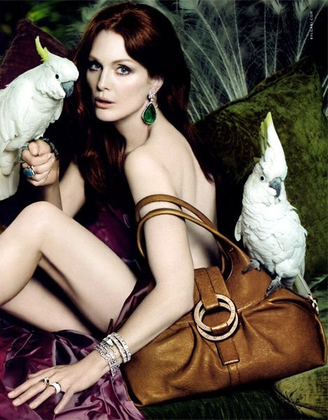 Julianne Moore for Bulgari summer 2010