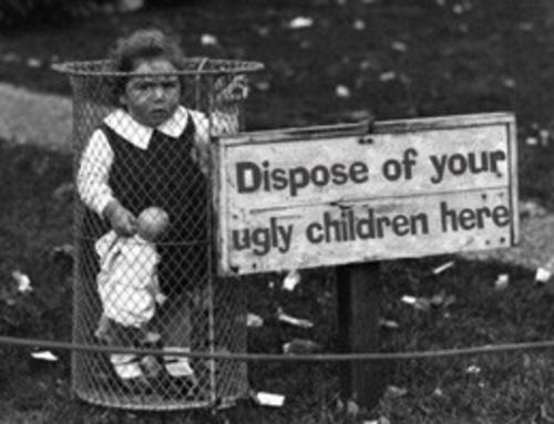 put your ugly kids here