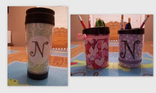 personalized tumblers $14 personalized pencil cups $12