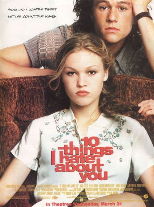 lyriquediscorde:  thereal1990s:  10 Things I Hate About You (1999)
