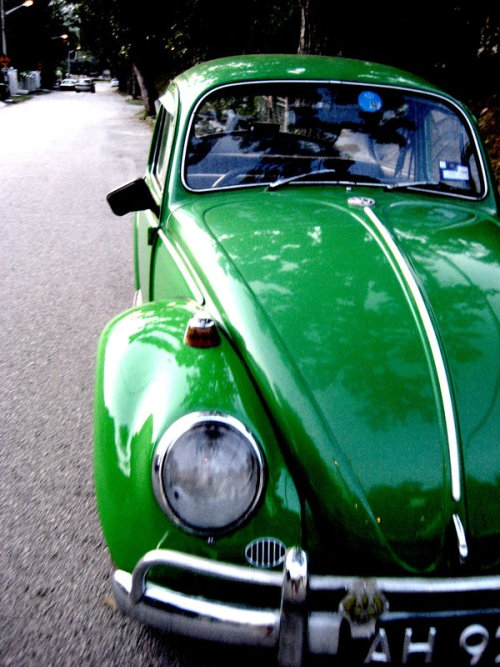green volkswagen by ~swimsam91 on deviantART