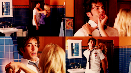 CHUCK: If you're planning on hurting me, even to prove a point, I think you should know I have a very low threshold for pain.  Chuck, 1x02 Chuck vs. the Helicopter