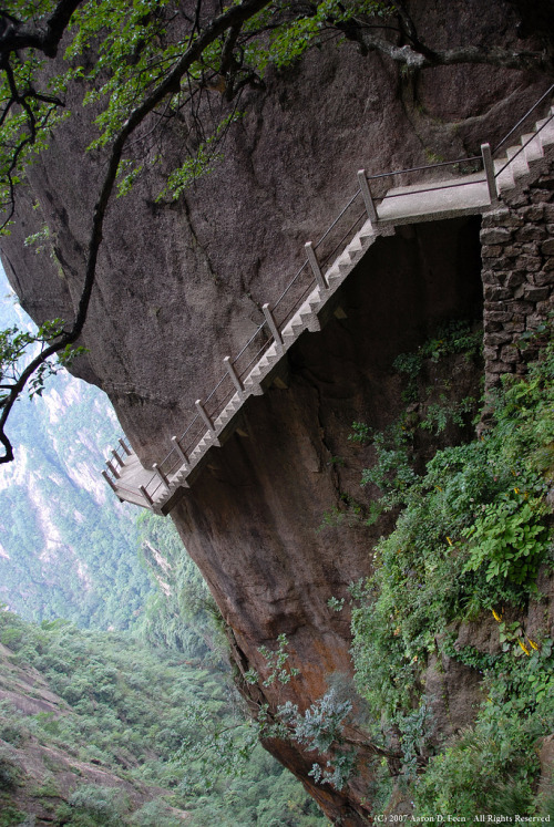 t-s-k-b:  Huangshan (Yellow Mountains) (via Aaron D. Feen)
