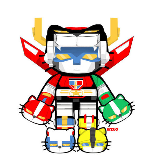 | carcasses | … | geekleetist |  Hello Kitty Voltron […] !