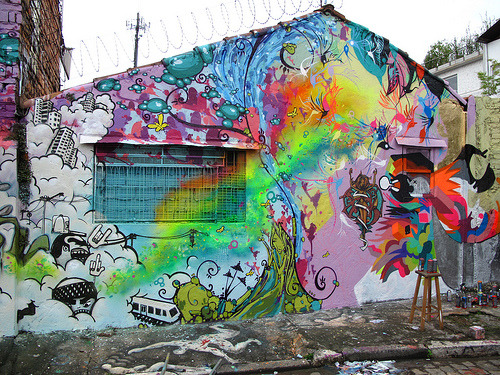 Graffiti Art - Beco do Batman SP 2009 (via zezao)