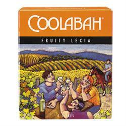 Brand: Coolabah Grape: White Style: Fruit Lexia Price: ~$15 Coolabah Fruity Lexia is a fine drop of cask wine but it does have a few flaws which does not make it my number one choice of goon. Firstly they are charging around $5 more then other just as good tasting wines, bringing the price to $15. Secondly the stupid nozzle on the bag is sharp, pointy and half the time just trickles out of the sac and takes you a whole night to fill your cup/stomach.