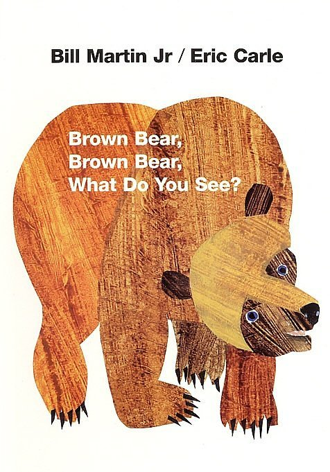 On nights when I'm stretched for time, but still wish to write a blurb about a beloved book, I turn to my stash of board books. And I would be remiss not to include an Eric Carle picture book among my first twenty posts. Add Bill Martin Jr. taking care of the words