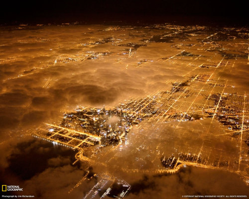 internetology:  City at night, by National Geographic.