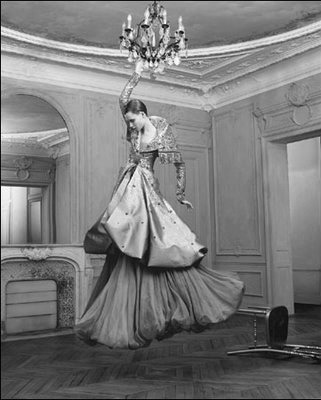 Meanwhile, back at the chateau ~dress by valentino~