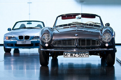 Heritage Starring: BMW 507 & Z3 (via arndt_100)
