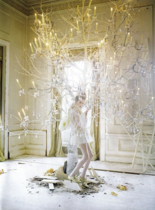 sore-thumbelina:  Lady Grey: Imogen Morris Clarke by Tim Walker in Vogue Italia March 2010