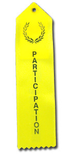 Participation Ribbons