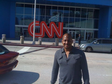 Wayne at the CNN Center in Atlanta. #NCchevysxsw