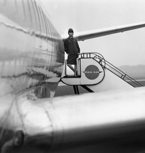 "pjmix:  ""Jet-Age"", Gunel Person F.C. Gundlach Hamburg 1963 in: Brigitte 17/1963 (via)  Everyone loves jets, right?"