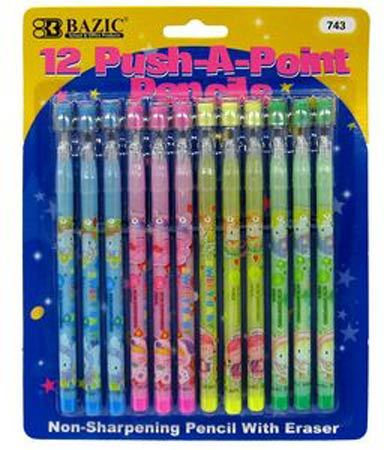Push-A-Point Pencils (Remembered by interspecieslove)