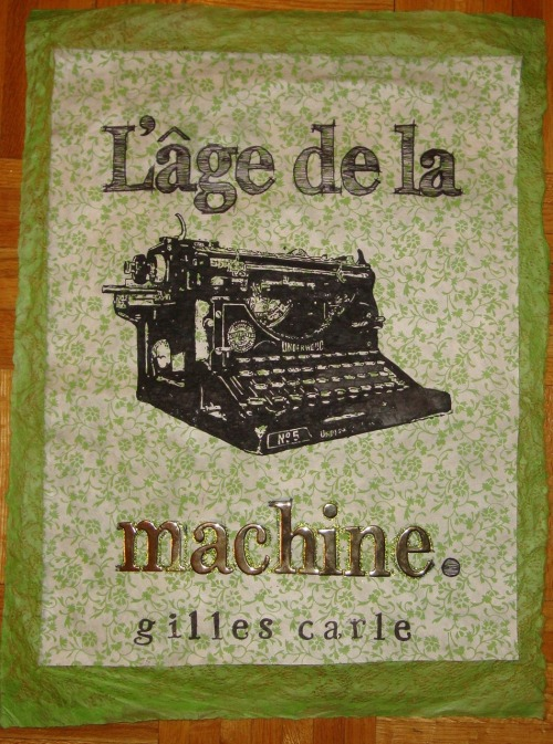 Poster for the movie L'age de la machine.Project for school. I enjoyed very much (: