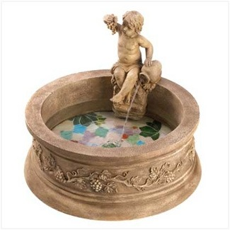 Ready for spring? Start with this gorgeous Water Fountain :  wwwwuslucom home decore