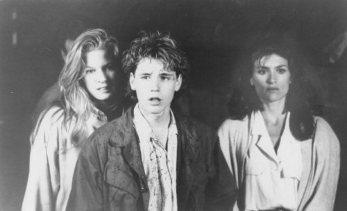 Corey Haim, Lala Sloatman, Barbara Williams