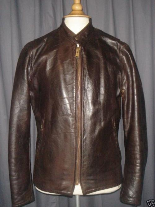 It's On eBay Vintage ca. 1930s cafe racer-style leather jacket Starts at $85, ends Monday