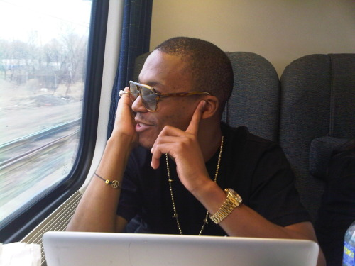 LUPE GETS IT DONEOn the train ride this morning from DC to NYC, Lupe Fiasco did a radio tour via cellphone promoting the MTV documentary.