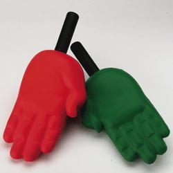 Warning! This is NOT a foam finger. Don't be fooled by imposters. Arm yourself with education. http://en.wikipedia.org/wiki/Foam_hand