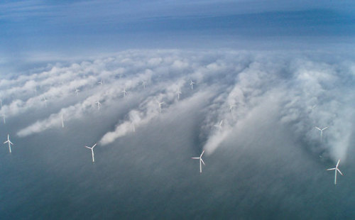 In pictures: The beauty of wind power I could easily post half of this gallery. Wonderful.