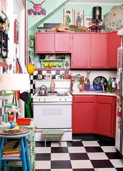 blackbutterfly:  chutzpahrummage:  Via Design Is Mine kitchen