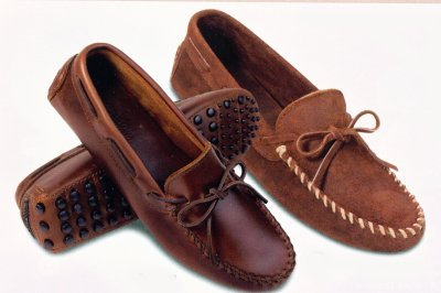 Original Minnetonka Driving Moccasins only cost $46.95.  That's called value, folks.