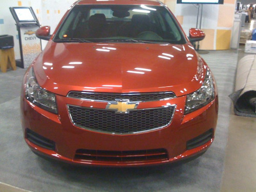 Chevy Cruze on SxSW exhibit floor #chevysxsw