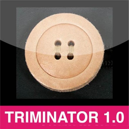 TRIMINATOR 1.0 APP - An amazing collection of fashion trims for fashion students/designers, clothing companies & people who just love sewing & design.  Dozens of buttons ranging from wood to novelty types!  Also variety of snaps, appliques, closures, cording, stoppers, labels, patches, zipper pulls and so much more!!!  From vintage, modern to technical trims!!! A must have for anyone in fashion!  This will be updated frequently with more trims from vintage, modern, ubercool to technical!!!  Get it at the Itunes store now!