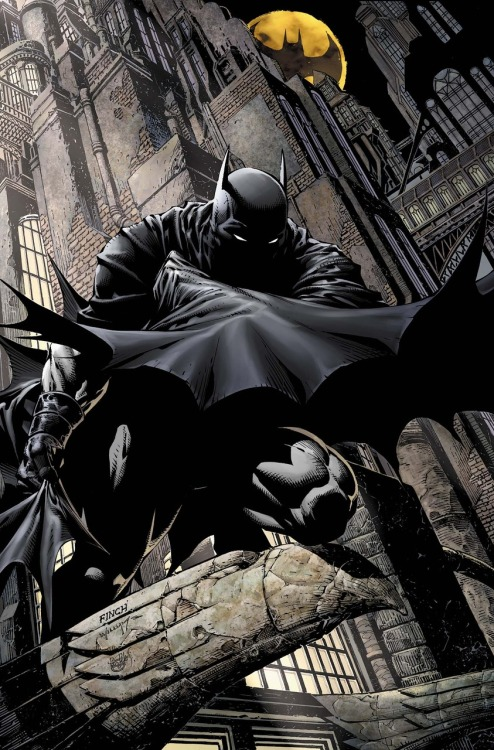 Batman #700 cover by David Finch.