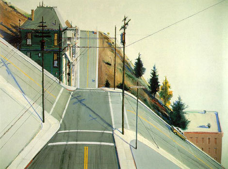 charzblue:  youmightfindyourself:  tobia: (via piale) Wayne Thiebaud