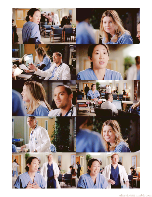 schmorygilmore:  ultraviolettt:  CRISTINA: You know, Webber really came up with the idea, to take out the liver. Maybe if Owen agreed to take his name off… MEREDITH: Will you give it up? Hunt was more than halfway done by the time the idea even surfaced. There's no Harper Avery. CRISTINA: Waste. JACKSON: No, it's not a waste. It's exactly what my grandfather had in mind when he came up with the stupid thing. Find some way to keep surgeons motivated. Make them take it to the next level, even if they're already at the top of their game. And that's exactly what it did today. CRISTINA [after a pause, in a somber voice]: This message was brought to you by the Harper Avery Foundation of America. [Meredith bursts out laughing] Donations to the foundation can be made at www dot nepotism dot… JACKSON: You're kind of a bitch, you know that? [leaves] CRISTINA: What? It was inspiring! [Meredith and Cristina continue to laugh]  - Grey's Anatomy; 6x17 Push