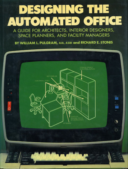 Book Cover: The Automated Office. 1984.