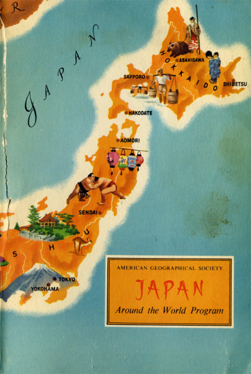 Book Cover: Japan. Around the world. 1959.