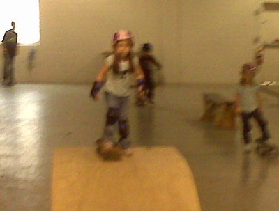 Ava on the ramp