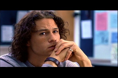 10 Things I Hate About You - Heath Ledger That face…