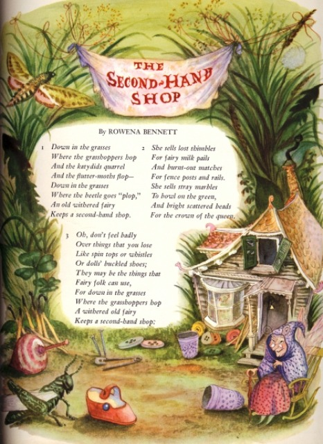 From The Big Book of Elves & Fairies, illustrated by Garth Williams.