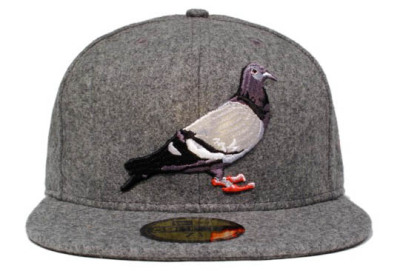 Staple 'Pigeon' New Era – Grey Melton Wool - mashKULTURE