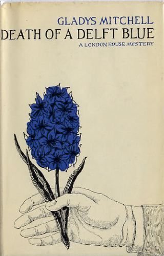 Death of a Delft Blue by Gladys Mitchell, cover by Edward Gorey, 1965.