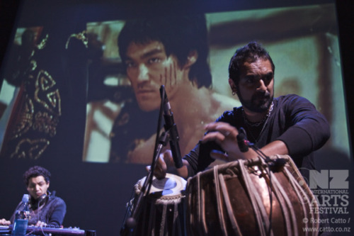 Lots of new & updated galleries this morning!  Karsh Kale & Midival Punditz with their new score to Enter The Dragon last night, Neil Gaiman's talk from the weekend, new Revolt of the Mannequins & Art Talks and lots more…