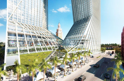 age-of-ecology:  Oppenheim Unveils Exoskeletal LEED  Campus Center for Miami Dade