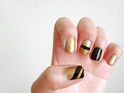 gold and black again