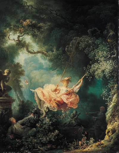 The Swing by Jean-Honoré Fragonard, 1767-1768