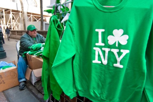 "equalitopia:  LGBT community banned from NYC St. Patrick's Day Parade The traditional St Patrick's Day Parade excludes members of the LGBT community on the grounds that it is a religious event. The organizers of the NYC St. Patrick's Day parade, seeking to legalize  their discrimination against Irish lesbian, gay, bisexual &  transgender marchers, have redefined the parade as a private, religious  procession. Today, gay group Irish Queers lined the sides of the parade to  protest against the exclusion. They also criticised local police departments for joining the march,  estimating that tens of thousands of police officers and firefighters  were involved. JF Mulligan of Irish Queers said in a statement: ""Anti-gay  discrimination is now illegal in both Ireland and New York City. The  NYPD, FDNY and Mayor Bloomberg need catch up. As city representatives,  they cannot legally march until parade organisers renounce their  discriminatory message."" Dublin LGBT groups have also criticised the event. A statement said the  exclusion was ""deeply un-Irish and something that we cannot allow to  happen in the name of an event that is about celebrating Ireland's rich  cultural heritage, of which the LGBT community are a corner stone here  in Ireland"". (Full story: Pink Paper UK)"