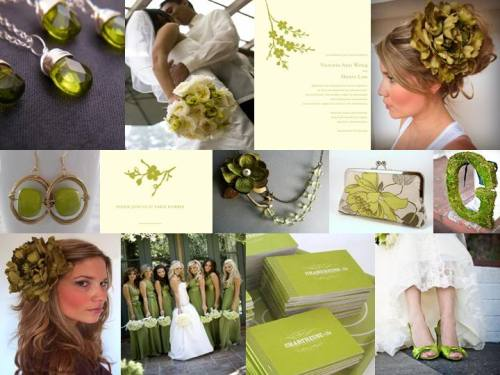 I love this inspiration board. I'd never do these colors for a wedding, but i'm strongly considering them for our bedroom.