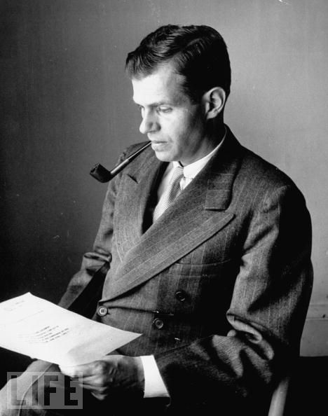 Alger Hiss was…. a badass with a pipe. He may or may not have hidden some film in a pumpkin? I don't think that's the best place to hide film, but whatevs. I'm pretty sure he didn't do it, though. I'm going to read some books and get back to you on this fascinating (and sexy) man, but for now- he took on HUAC like a badass motherfucker.